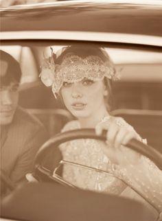 Vintage glam