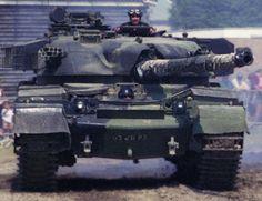 British Post Ear Main Battle Tank - The Chieftain