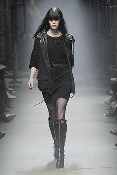 Alexander Wang Fall 2008 Ready-to-Wear Fashion Show - Meghan Collison