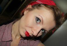 pin up girl - make up