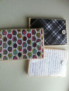 Retired 31 swatches!  Cloth covered notebooks. Hostess gifts?