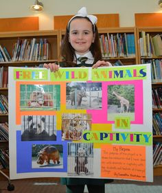 Junior School students made posters to raise awareness about projects they are working on!