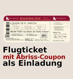 """Einladung+50.+Geburtstag,+""""Wein+auf+Rot""""+von+Papier-Fee++auf+DaWanda.com"""