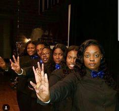 Welcome Alpha Mu CHAPTER OF SIGMA GAMMA RHO SORORITY  @ Lincoln University in Missouri Spr 18.