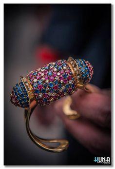 """Rouleau"" bracelet @John Rubel #JohnRubel #highjewelry #Paris #jewelry #luxury #gems #gold #diamonds"