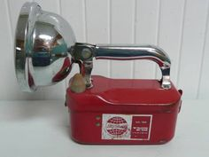Vintage Flashlight Torch Lamp, Big Beam Brand - Vintage Travel Trailer and Home Decor $32