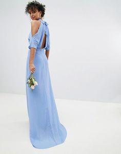 b5ef3daafe14 TFNC High Neck Maxi Bridesmaid Dress With Fishtail. Vackra KlänningarBrudklänningarBoll  Klänningar. online shopping ...