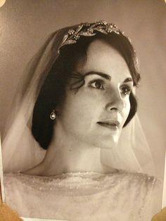 Downton Abby-- Lady Mary.  That headband!
