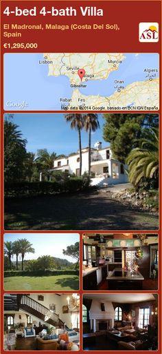 4-bed 4-bath Villa in El Madronal, Malaga (Costa Del Sol), Spain ►€1,295,000 #PropertyForSaleInSpain