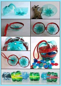 plastic bottle art Dont throw your empty plastic bottles from now on, they are far more DIY ideas than you think that you can recycle them into. I have shared a lot of Empty Plastic Bottles, Plastic Bottle Crafts, Recycled Bottles, Crafts To Make, Crafts For Kids, Diy Crafts, Diy Recycling, Recycling Projects, Pet Bottle