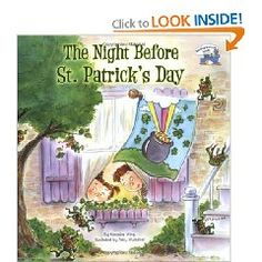 The Night before St. Patrick's Day, by Natasha Wing The Night before St. Patrick's Day is an adorable story about a tricky leprechaun, and two children's trap to get his pot of gold. St Pattys, St Patricks Day, Saint Patricks, Leprechaun Trap, Irish Leprechaun, Day Book, Day Plan, Read Aloud, Childrens Books