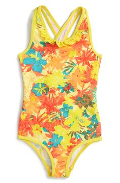 Patagonia 'QT' One-Piece Swimsuit (Toddler Girls)