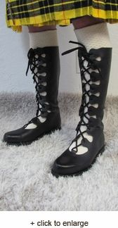 56dc6c28a Ghillie Boot - renaissance medieval clothing