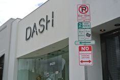 London-born street artist Plastic Jesus erected several 'No Kardashian Parking Anytime' signs around Los Angeles this week - including one right outside the Kardashian sister's clothing store Dash Plastic Jesus, Parking Signs, Metal Flowers, Street Signs, Art Classroom, Street Artists, Park City, In Hollywood, Contemporary Artists