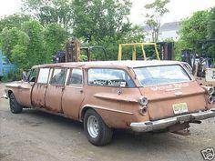 Nunrunner Custom Made Rusty Limousine  Unique Vehicle