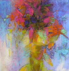 Soft pastel on Rives BFK paper (Contemporary Painting)