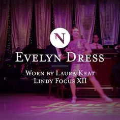 A little #Charleston #Dance inspiration for this weekend's @jazzagelawnparty #NicoleLenzen Evelyn #Dress