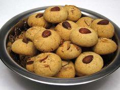 Indické sušienky Nankhatai