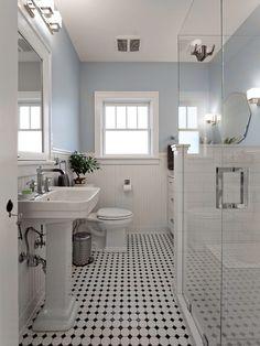 Victorian Bathroom by Christa Pirl Interiors