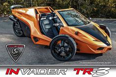 Welcome to Tanom Motors, home of the Tanom Invader High Performance Reverse Trikes (HPRT) including the Red Rocker, LE and Type-R Stage 1 and 2