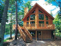 Ağaç İçinde Birbirinden Güzel Doğa ile ormanlık alanda birleşmiş İnsanın huzur bulacağı ev...
