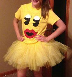 Miss Pacman Costume