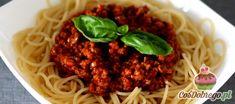 Przepis na Spaghetti bolognese Nasu, Spaghetti, Beef, Ethnic Recipes, Food, Meat, Essen, Meals, Yemek