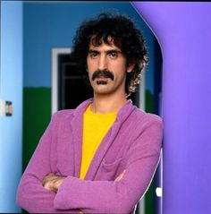 Frank Zappa in glorious color