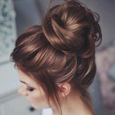 Soft, Loose Messy Bun.