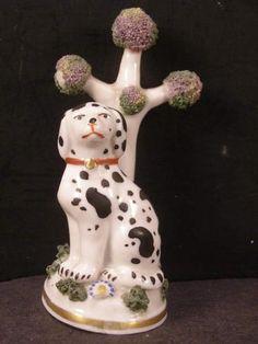 Marble Lamp, Dalmatian Dogs, Antique Collectors, Tree Sculpture, One Tree, Black Spot, Bud Vases, Potpourri, Makers Mark