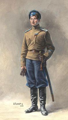 Orenburg Cossack: