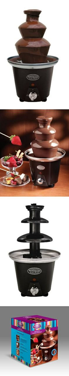 Nostalgia Electrics CFF965 Mini Chocolate Fondue Fountain