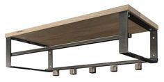 Kapstok Rumba Iron Furniture, Couch Furniture, Industrial Furniture, Furniture Plans, Furniture Design, Hanging Organizer, Bed Design, Decoration, Home Interior Design