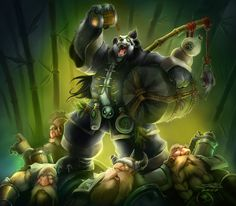 Chen stormstout showing those dwarves how it's done XD #gochen