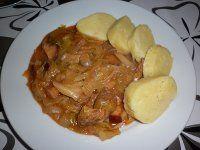 ZELÍ NA PIVĚ-PROSTĚ ŽRACÍ:-)))) Slovak Recipes, Czech Recipes, Pork Recipes, Cooking Recipes, Recipies, Salty Foods, Food 52, Baked Chicken, Bellisima