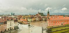 Castle Square in Warsaw after first storm this year | Flickr - Photo Sharing!