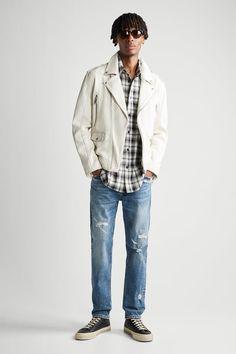 ΔΕΡΜΑΤΙΝΟ ΜΠΟΥΦΑΝ BIKER | ZARA Greece / Ελλαδα Zara, Bomber Jacket, Hipster, Mens Fashion, Long Sleeve, Leather, Jackets, Interior, Color
