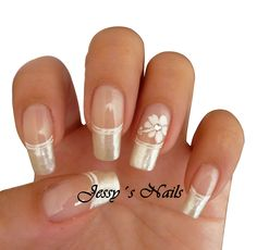 Hot Trendy Nail Art Designs that You Will Love French Nail Designs, Diy Nail Designs, Acrylic Nail Designs, Acrylic Nails, How To Do Nails, My Nails, Spring Nail Art, Elegant Nails, Artificial Nails