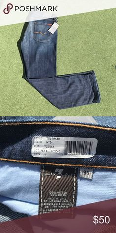 7 for All Mankind Classic Straight Leg Size 36x33 7 for All Mankind Classic Straight Leg Size 36x33.  BNWT.  Smoke free home. 7 For All Mankind Jeans Straight
