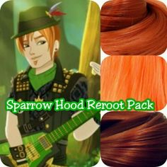 Ever-After-High-Sparrow-Boy-Doll-Re-root-Pack-Nylon-Hair-Kit-for-OOAK-Custom