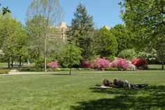 Azalea Garden: A hop, skip, and jump away from Boathouse Row, the Water Works and the Philadelphia Museum of Art, Azalea Garden in Fairmount Park is the perfect resting spot for travelers. Grab a blanket and sunscreen and lay out with a picnic in the park!