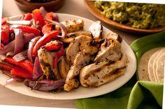 Basic Chicken Fajitas