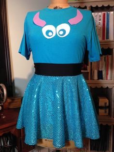 SULLY Inspired Running Costume Skirt & T-Shirt! Perfect for Disney Races!