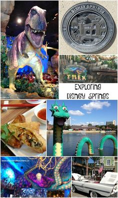 Some of the sites you can expect to see at Disney Springs