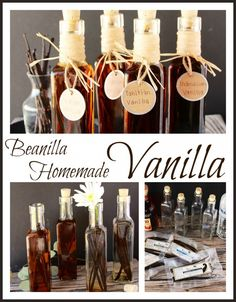 Beanilla Homemade Vanilla will show you exactly how easy it is to make your own . Spice Blends, Spice Mixes, How To Make Beer, Make Your Own, Vanilla Extract Recipe, Canning Food Preservation, Do It Yourself Crafts, Homemade Vanilla, Canning Recipes