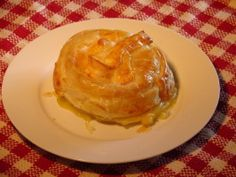 Brie or Camembert in Puff Pastry  -  This is delicious, you can add a fruit preserve on top of the Brie before baking.  I like it plain.