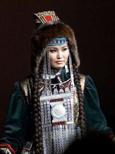 republique du sakha nord de la siberie costume traditionnel
