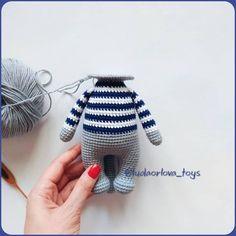 Samyelinin Örgüleri: Jeremy the Amigurumi Cat (Free English Pattern) Crochet Amigurumi Free Patterns, Crochet Animal Patterns, Crochet Doll Pattern, Loom Patterns, Knitted Dolls, Crochet Dolls, Crochet Cats, Crochet Birds, Crochet Food