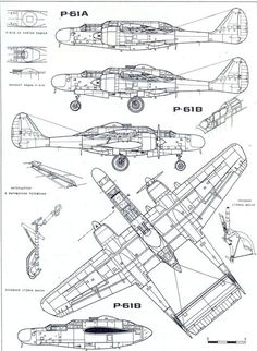 P-61 Black Widow blueprint