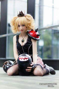 Super Mario: Dark Princess Peach? This pleases me more than it should.